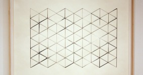 Triangular Grid Drawing -3- color adj